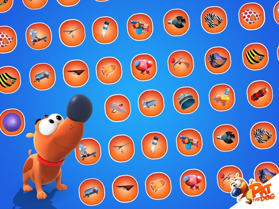 Ipad Screen Shot Pat the Dog 3