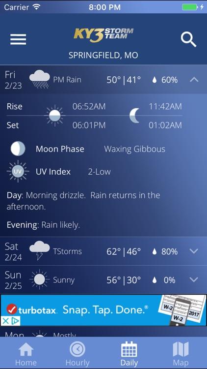 KY3 Weather screenshot-3