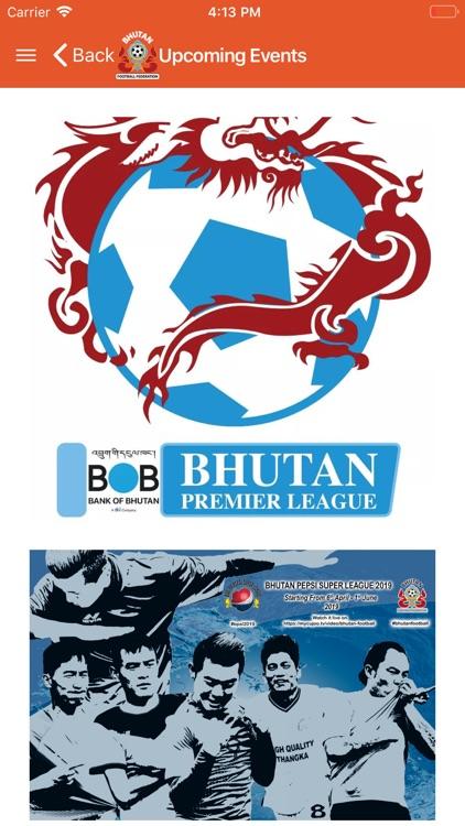 BhutanFootball screenshot-3