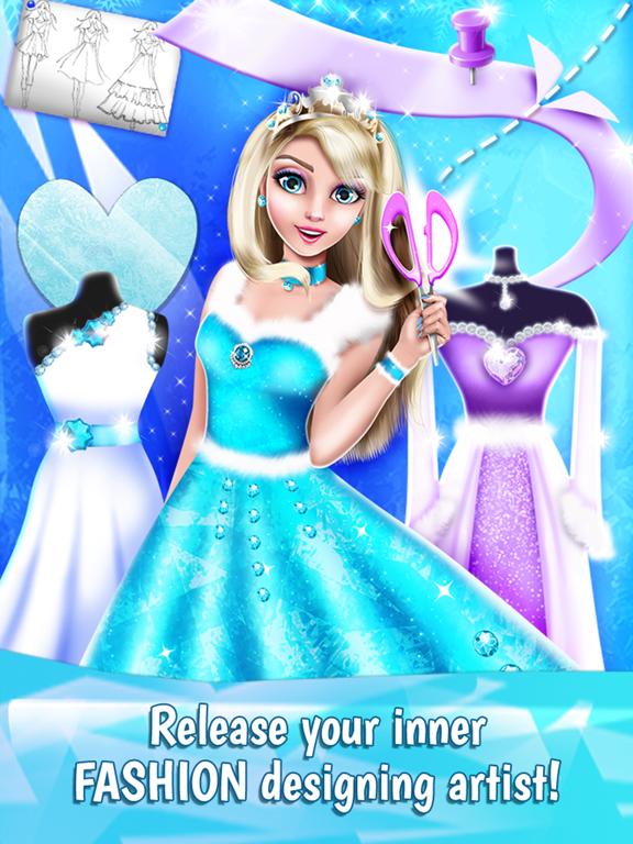 Ice Princess Dress Designer App Price Drops