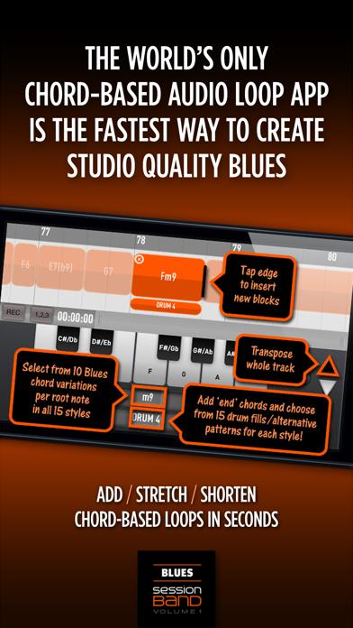 SessionBand Blues 1 Screenshots