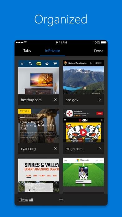 download Microsoft Edge apps 4