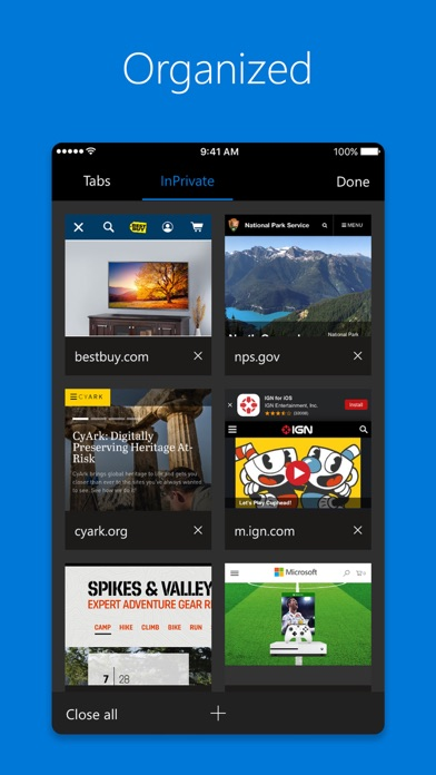 download Microsoft Edge apps 0