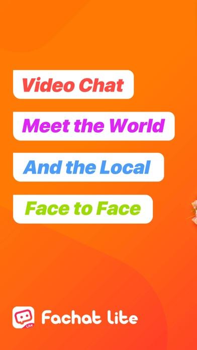 Fachat-Videochat with Stranger Screenshot