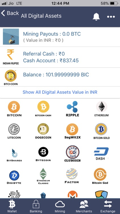 Bitcoin India Wallet &Exchange – (iOS Apps) — AppAgg