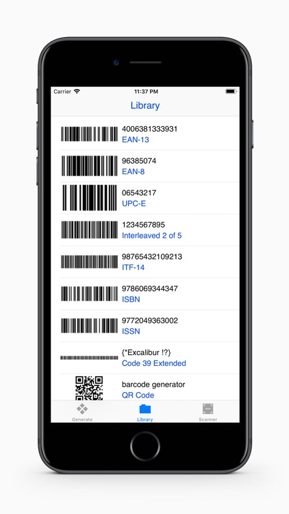 Barcodes Generator screenshot-1