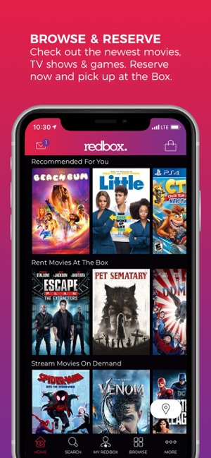Redbox – Rent, Watch, Play on the App Store