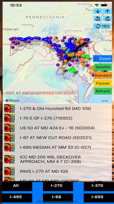 Traffic Cameras Maryland Pro screenshot 2