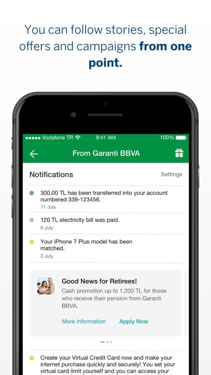 Garanti BBVA Mobile screenshot-4