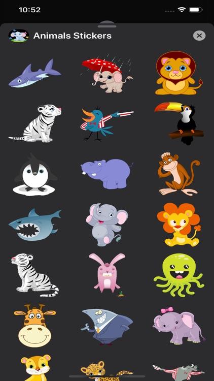 Animals Stickers & Emojis screenshot-4