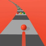 Run Road Color : same 3d ball