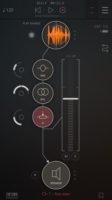 Скриншот №1 к AUM - Audio Mixer