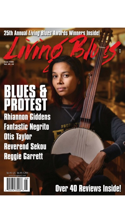 LIVING BLUES MAGAZINE screenshot-3