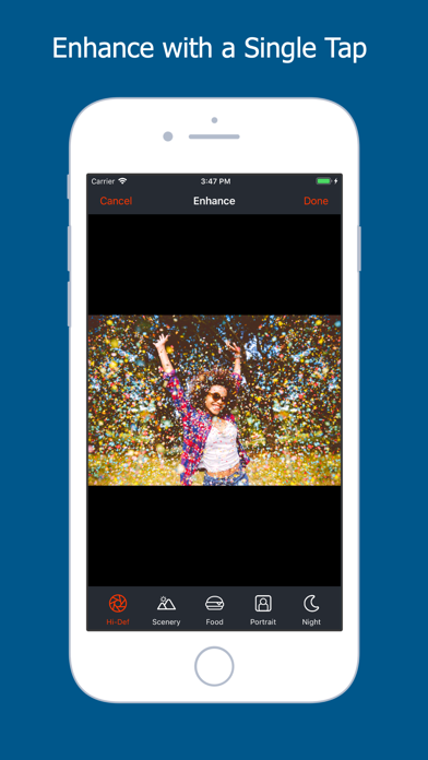 Retouch: Photo Touch-up Editor screenshot two