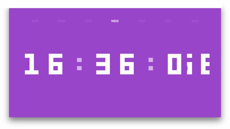 Digit Clock screenshot-4