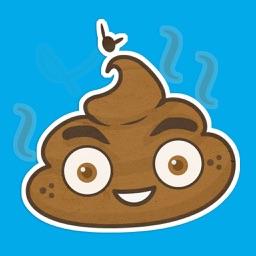 PooPoo Head Sticker Pack