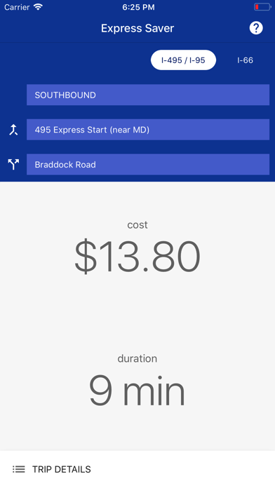 Express Saver screenshot one