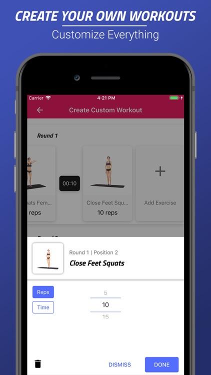 Butt & Legs Workouts screenshot-4