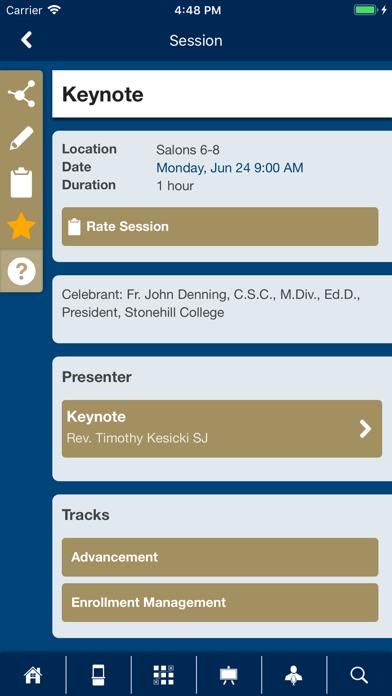 PIM Conferences screenshot three