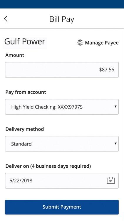 Gulf Winds Mobile Banking screenshot-5