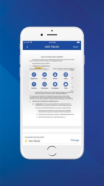 DocuSign - Upload & Sign Docs screenshot-3