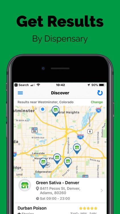 Greenery Map: Cannabis Search screenshot-5