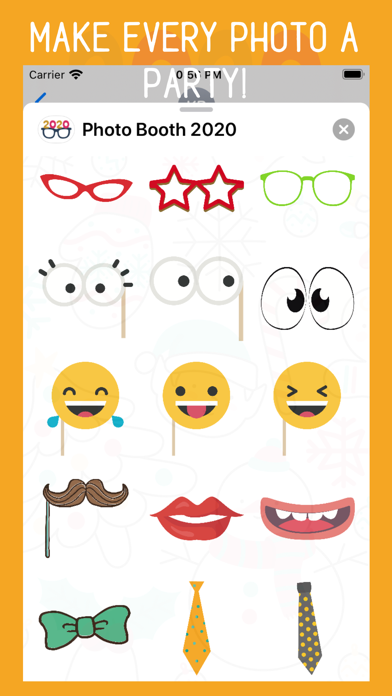 Photo Booth 2020 Stickers screenshot four