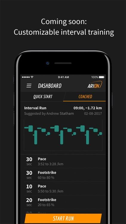 ARION Run screenshot-4