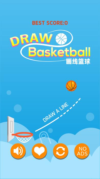 Draw Basketball-Basket screenshot one