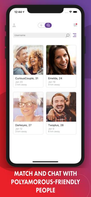 poly datování app