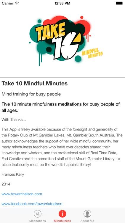 Take 10 Mindful Minutes