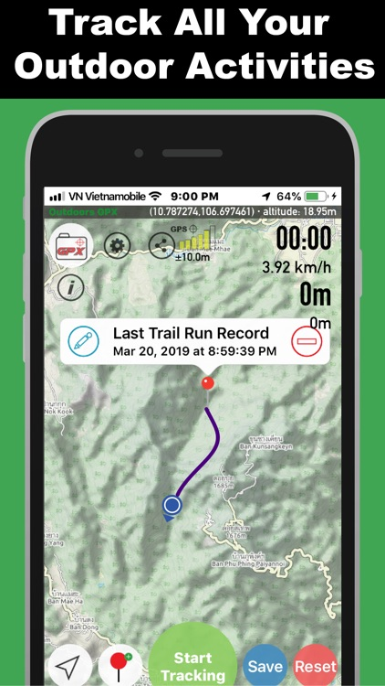 Outdoors GPX-Track Activity