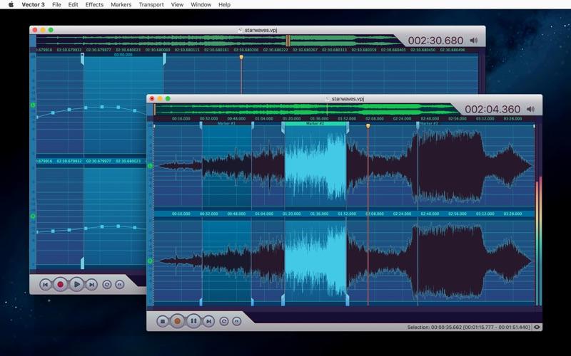Vector 3 Express: Audio Editor скриншот программы 3