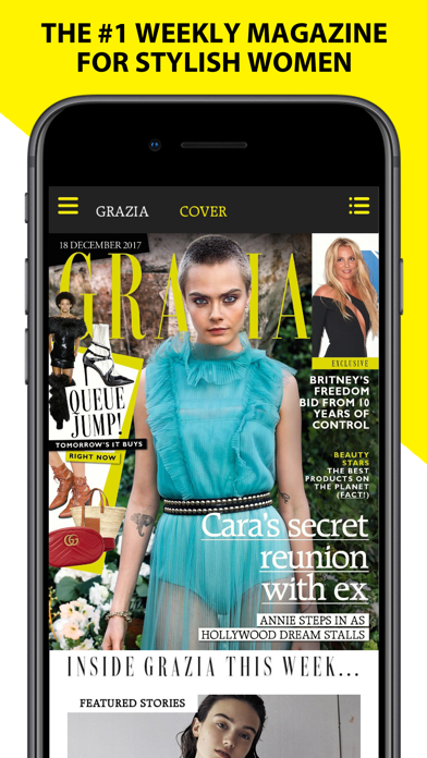 Grazia Beauty Fashion News review screenshots