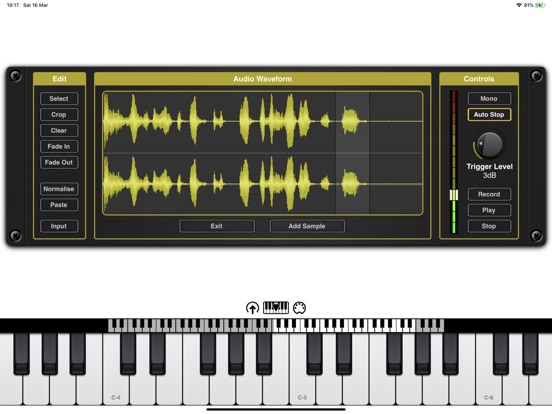 Chameleon AUv3 Sampler Plugin screenshot 10