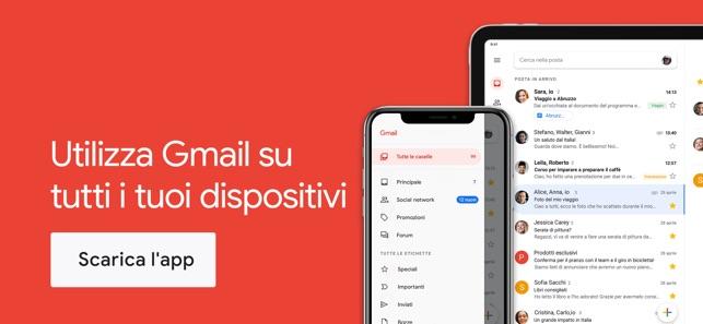 Scaricare allegato gmail ipad