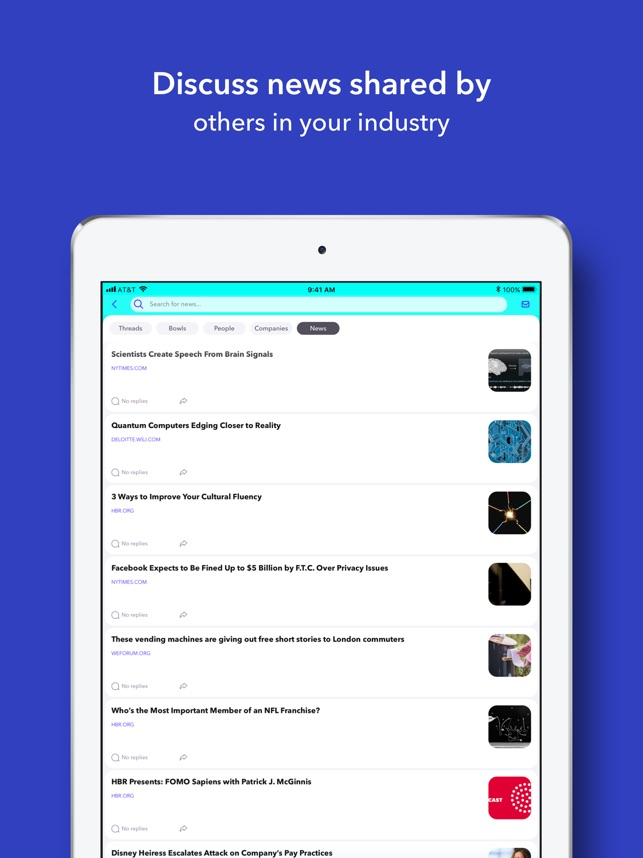 Fishbowl: Professional Network on the App Store
