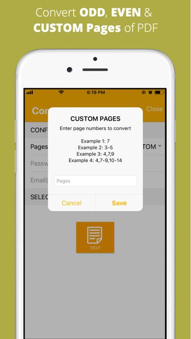 Aadhi PDF to Text Converter screenshot 5