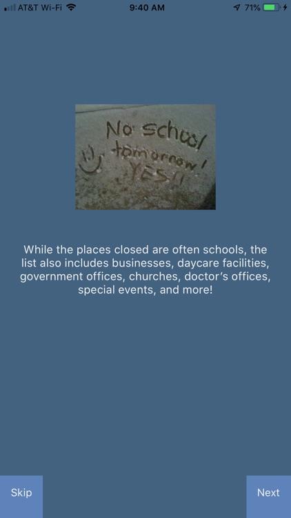 RUClosed - school/work closed? screenshot-3