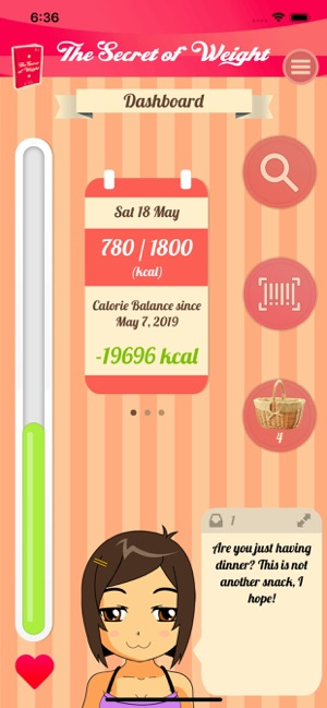 ‎The Secret of Weight Screenshot