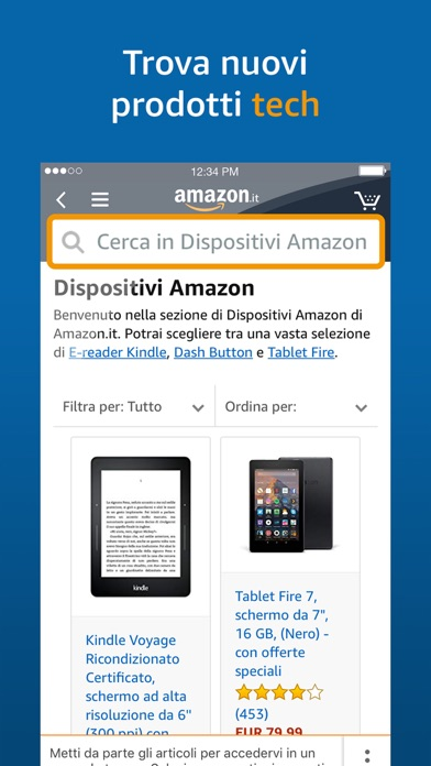 Scarica Amazon Mobile per PC