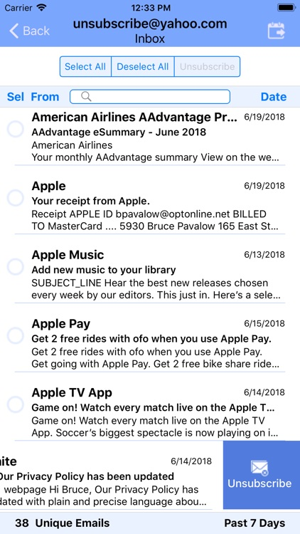 UnSubscribe screenshot-5