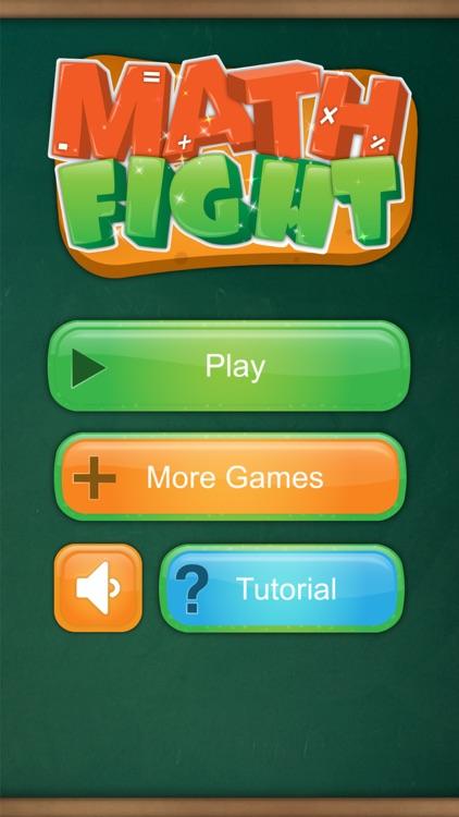 Math Fight: 2 Player Math Game screenshot-4