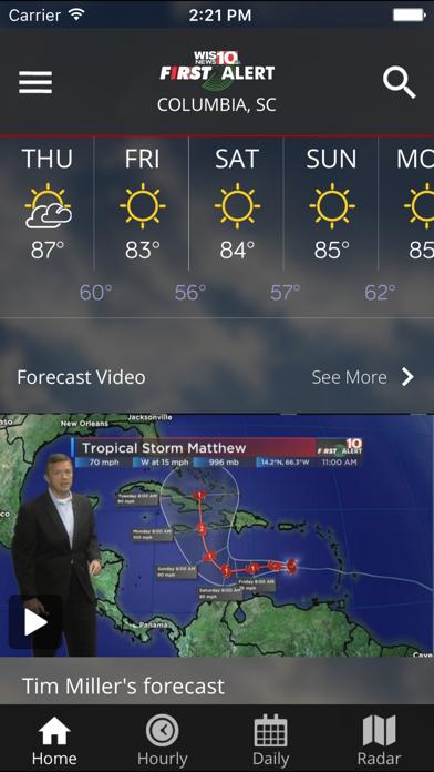 Wis News 10 Firstalert Weather review screenshots