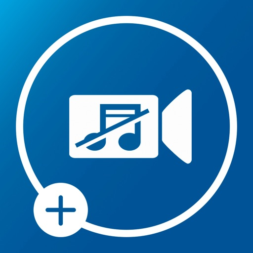 Mute Video Add Music To Video icon