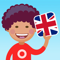 App Icon for EASY peasy: Engels voor kids App in Belgium IOS App Store