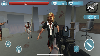 Dead Zombie Killer Sniper 3D screenshot 2