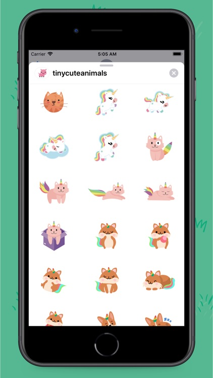 Tiny Animals Stickers screenshot-3