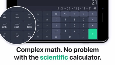 The Calculator ٞ Screenshot
