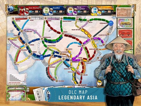 Ticket to Ride - Train Gameのおすすめ画像9